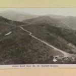 Alpine Road from Mt. St. Bernard Hospice