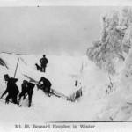 Mt. St. Bernard Hospice, in Winter 1890