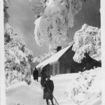 Mt. St. Bernard Hospice in Winter.
