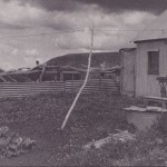 Spargo's Hut with garden 1945 no caption