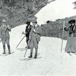 Vic Governer on Skis Mt. St. Bernarnd Hospice 1912